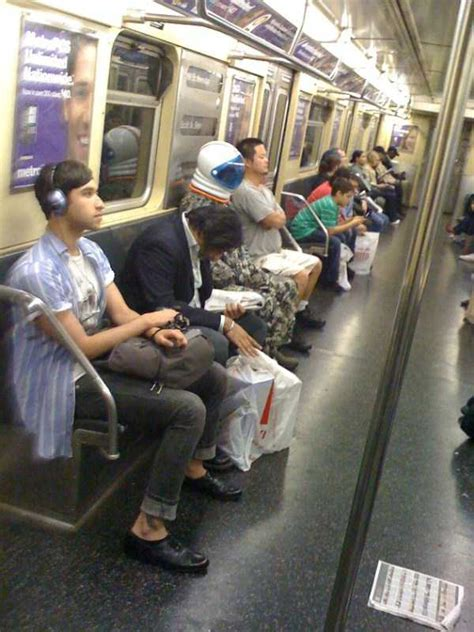 Strange Commuters You Don't Want to Meet on the Subway (30