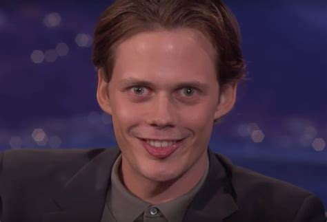 Bill Skarsgård Performs His 'IT' Pennywise Smile On Conan