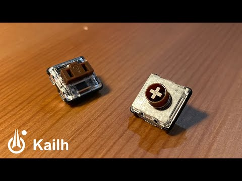 New low profile Kailh switches (cherry ML inspired)