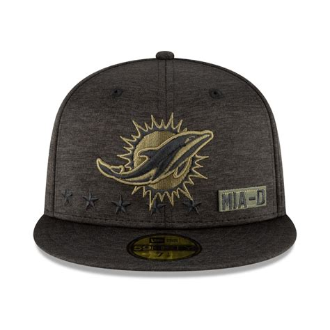 New Era 59FIFTY Cap Salute to Service Miami Dolphins