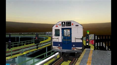 OpenBVE HD: New York City Subway R27/R30 Operating on The