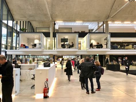 Station F, world's largest startup incubator, located in