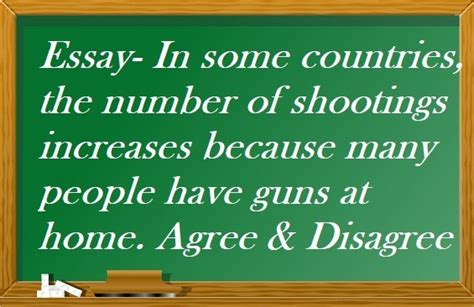 In some countries, the number of shootings increases